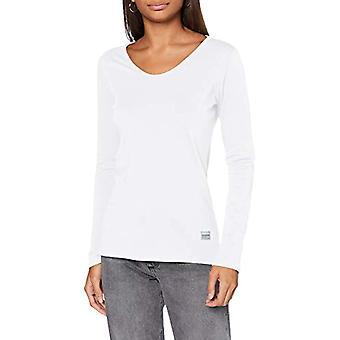 G-STAR RAW Core Eyben Slim T-Shirt, White 4107-110, XXS Women