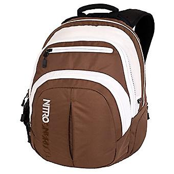 Nitro Snowboards 2018 Casual Backpack, 49 cm, 29 liters, Brown (Brown)