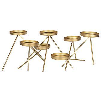 Gold Metallic Kerzenhalter