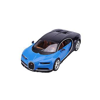Coche fundido a troquel modelo de Bugatti Chiron (2016)