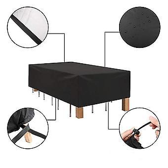 270 *180 *89 Cm mobilier d'extérieur imperméable à l'eau couverture patio jardin chaise de table poussière oxford couverture az197
