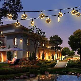 Shell solar string lights 6m 30 lights wedding christmas birthday holiday room courtyard decorative led lights dt7144