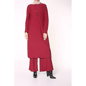 Costum Hijab cu colier