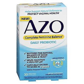 Azo Complete Feminine Balance Daily Probiotic, 30 Caps