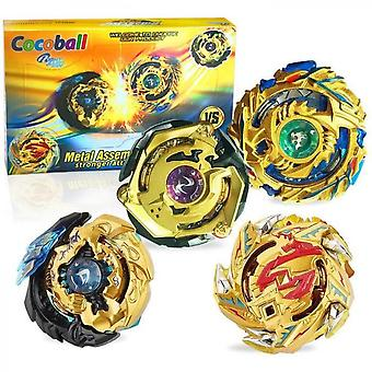 Metal Master Fusion Gyro Toys For Kids, 4x High Performance Tops