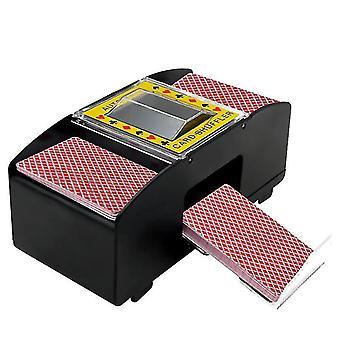 2020 Electric Automatic Card Shuffler täydellinen bridge- tai pokerikokoisille pelikorteille