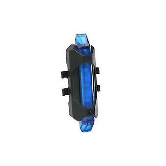 Tylne światła rowerowe, światła nocne z ładowarką USB 2szt (niebieski)