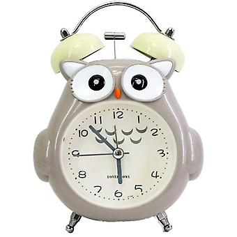 Homemiyn Owl Alarm Clock For Kids, Owl For Kids And Teen Loud Bell And Button Night Light For Heavy Sleepers