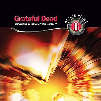 Grateful Dead - Dick's Picks 36: 9/21/72 The Spectrum, Philadelphia, PA Vinyl