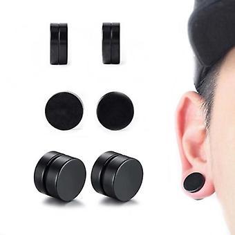 Fake Plugg magnet svart 14 mm