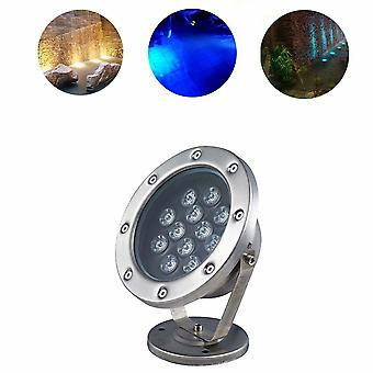 Led Stainless Steel Fish Tank Light Underwater Light Underwater Light Underwater Mounted Surface Light Colorful Fountain Of Rgb Pool Light