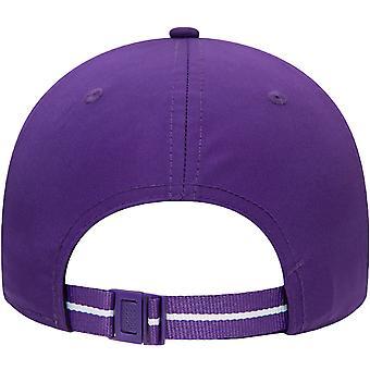New Era 9FORTY Los Angeles LA Lakers NBA Two Tone Baseball Cap Hat - Purple
