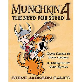 Munchkin 4 The Need for Steed Board Game