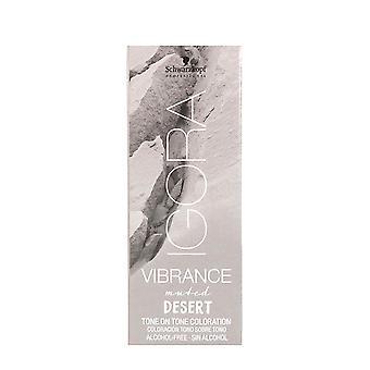 Permanent Dye Igora Vibrance Desertic Mute Schwarzkopf 7-24 (60 ml)