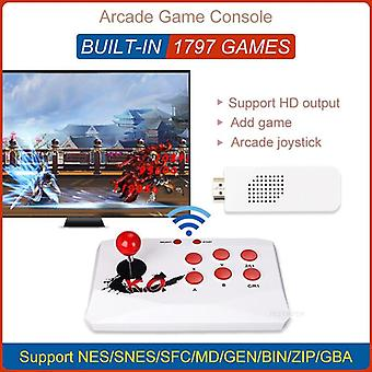 TV Video Game Console  HD Output Game Player With Wireless Game Controller Joystick