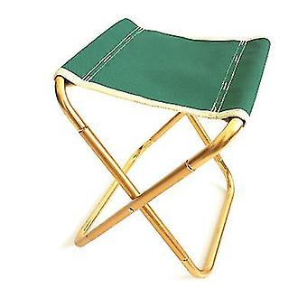 Portable Folding Stool,slacker Chair Outdoor Folding Chair For Camping(green)