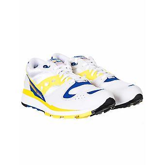 Saucony Azura Trenere - Hvit / gul / blå