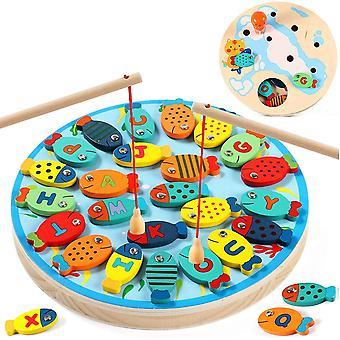 Gra wędkarska z magnetycznymi prętami dla dzieci