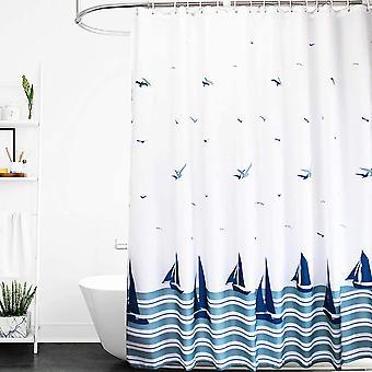 Duschvorhang Gewichte Sen Anti Schimmel resistent waschbare Badezimmervorhänge