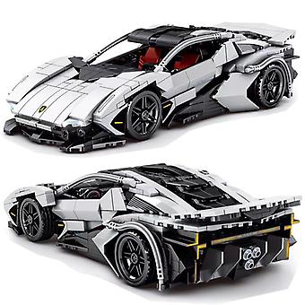 2021 Uusi Super Sports Car Racing Malli Rakennuspalikka Tiili Koulutus Kokoonpano Lelu Lapset Lahja