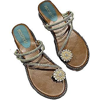 Anter sandaler for kvinner-flat All-match Sandaler