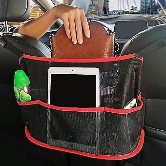 Mesh Car Backseat Organizer Net Pocket Handbag Holder Storage Pouch Between Seats