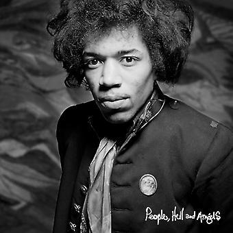 Jimi Hendrix - personer helvetet & änglar [CD] USA import