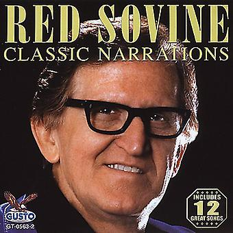 Red Sovine - Classic Narrations [CD] USA import