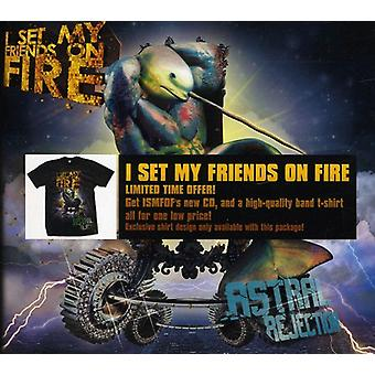 Ik stel My Friends on Fire - Astral afwijzing Limited Edition CD & T - [CD] USA import
