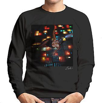 Grace Jones Disco Lights Photoshoot 2008 Men's Sweatshirt