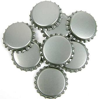 Crown Caps - Silver - 100