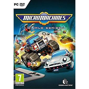 Micro Machines World Series PC DVD Game