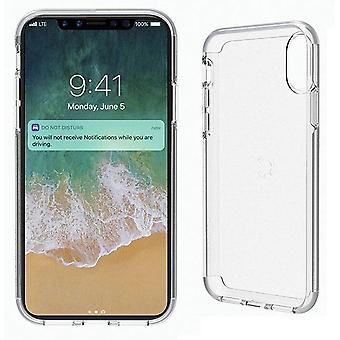Cygnett Stealth Shield Case Cover for Apple iPhone X - Crystal Clear