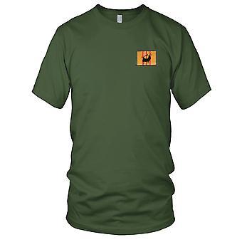 CH-46 chinook silhuet på Vietnam Service bånd broderet Patch - Kids T Shirt