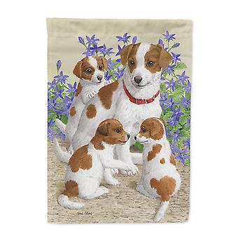 Carolines skarby ASA2167CHF Jack Russell Terrier flaga płótnie dom rozmiar