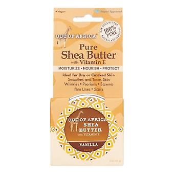 Out of Africa Vanilla Shea Butter Tin, 2 Ounce