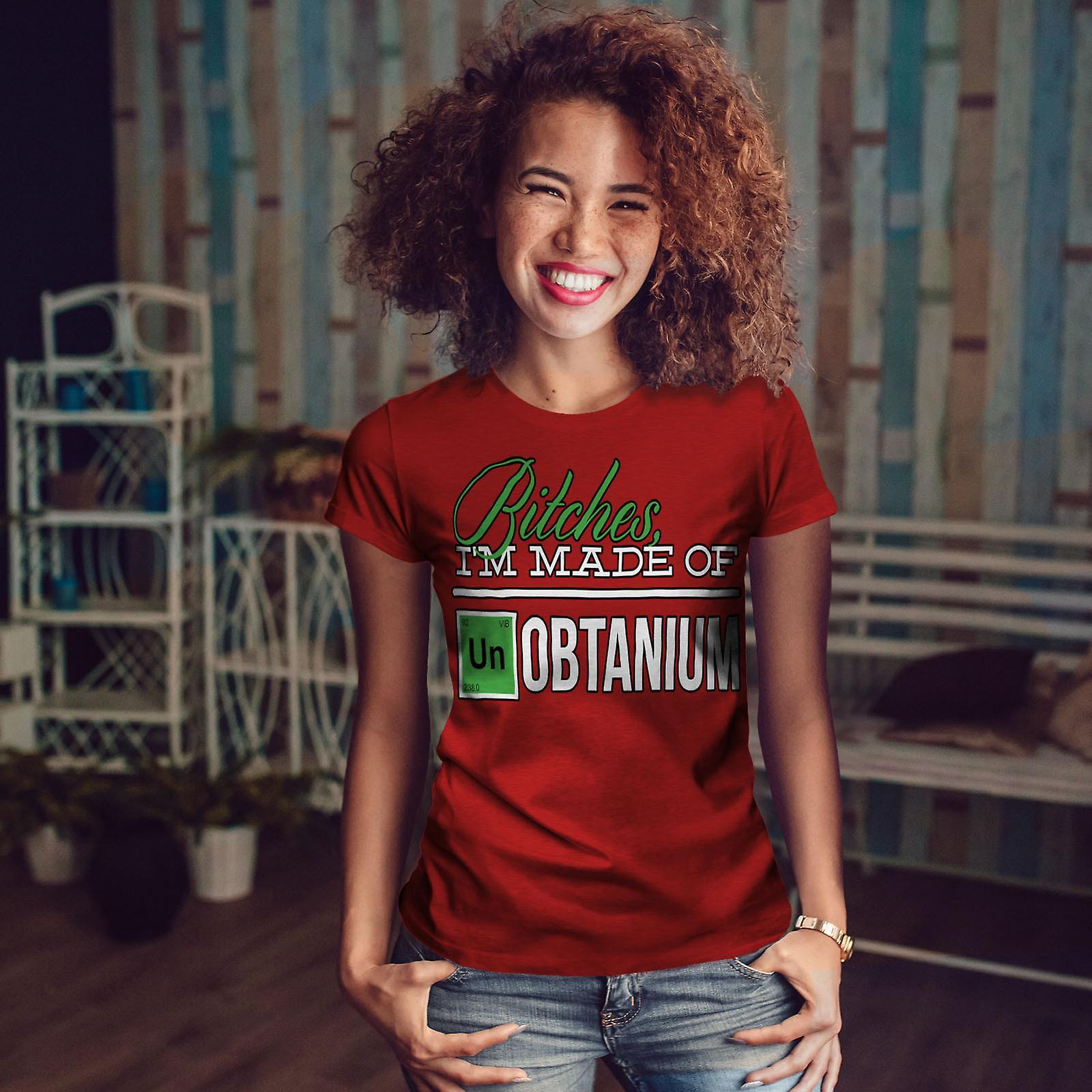 En chimie RedT-chemise femme   Wellcoda