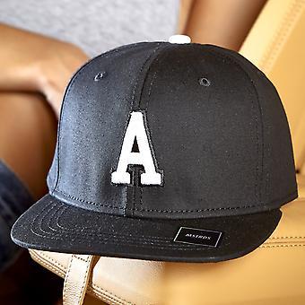Urban Classics Buchstabe A-Z LETTER Snapback Cap - schwarz