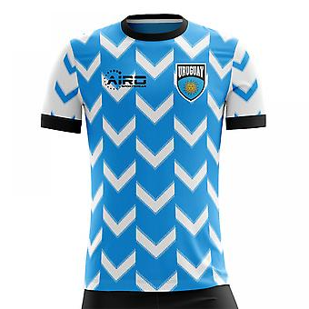 2020-2021 Uruguay Home Concept Football Shirt (Kids)