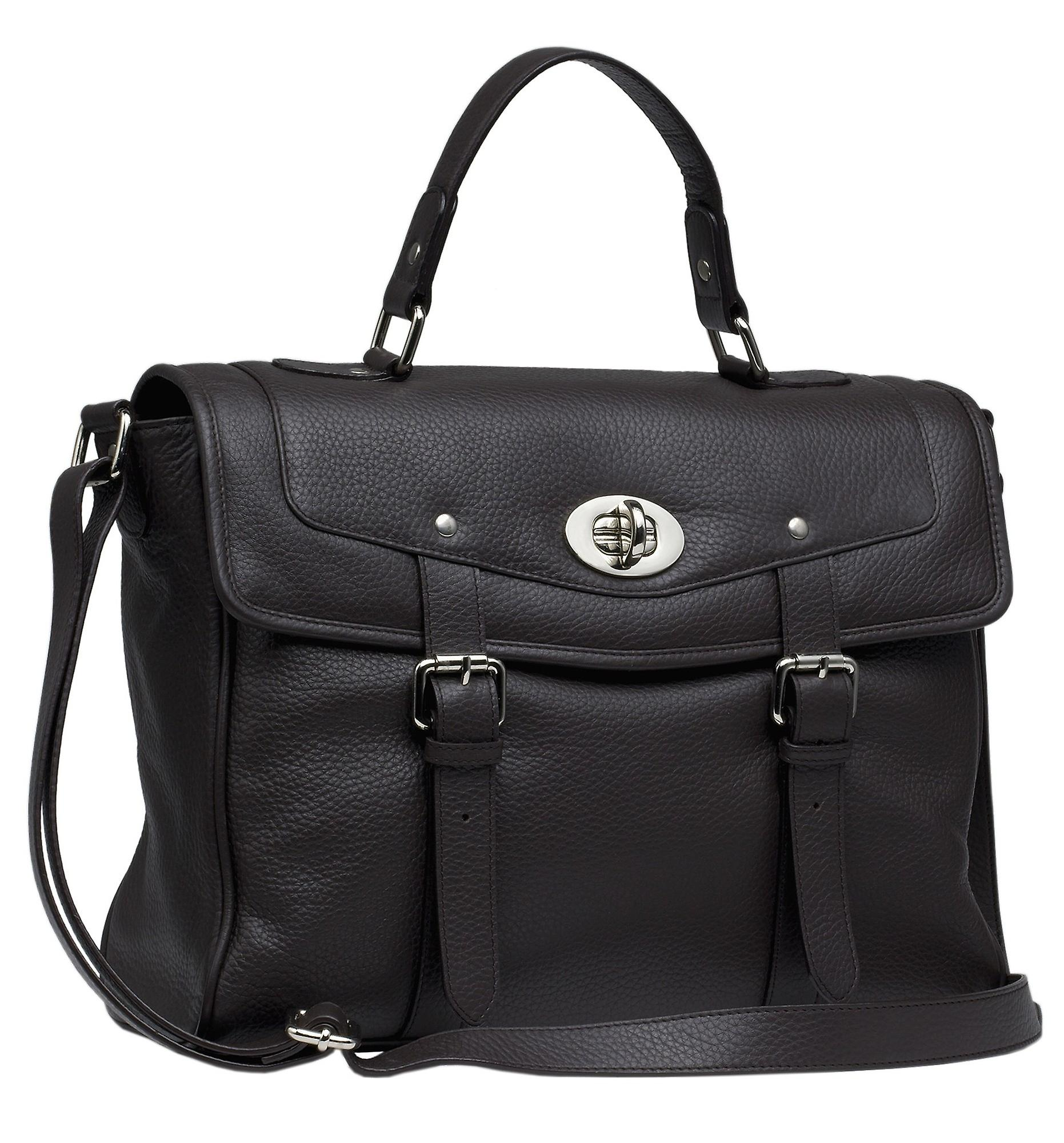 Burgmeister ladies bag T215-215A leather brown