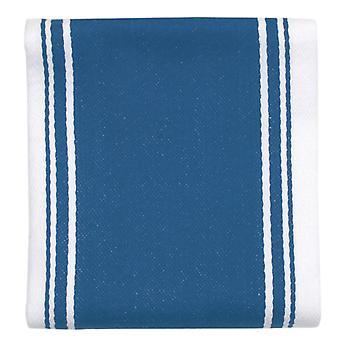 Elsker fargen stripete kjøkkenhåndkle, marokkansk blå