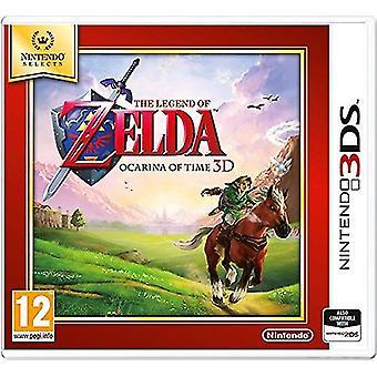 Nintendo selecteert de legende van Zelda Ocarina of time (Nintendo 3DS)-nieuw