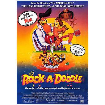 Rock-a-Doodle Movie Poster (11 x 17)
