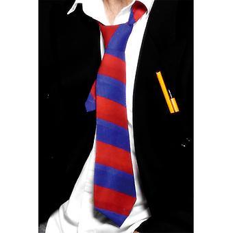 Koulun Tie - Blue & Red (määrä 1)