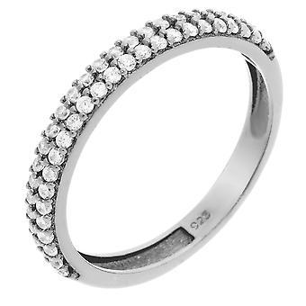 Orphelia srebro 925 pierścień cyrkonu ZR-6011