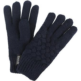 Regatta jongens & meisjes Merle kabel brei warme Fleece gevoerde winterhandschoen