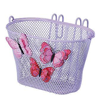 Basil jasmim borboleta roda dianteira crianças cesta