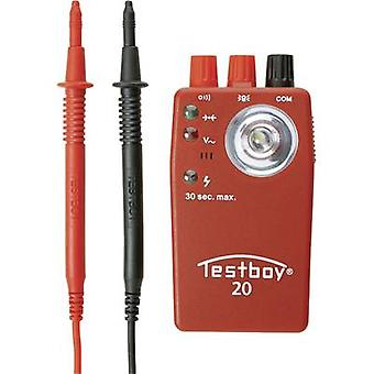 Testboy 20 plus continuïteits tester CAT II 300 V LED, akoestisch