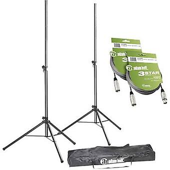 SPS023SET3 PA speaker stand set Telescopic, Height-adjustable 1 pc(s)