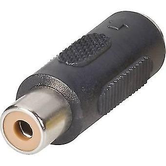 BKL Elektroninen 0204500 RCA-sovitin RCA-liitin (phono) - Mini DIN-liitäntä 1 kpl